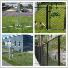Chain Link Fencing Rhombic Mesh On Sale