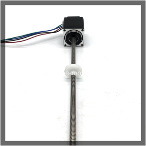 NEMA11/28mm linear stepper motor externally driven