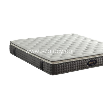 Popular Design for China Plush Mattress,Plush Fabric Mattress,Queen Size Mattress Supplier Mixture soft bed mattress export to Germany Exporter