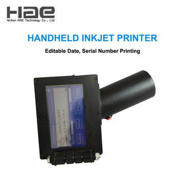 "4.3"" Display Portable Inkjet Date Coding Machine"