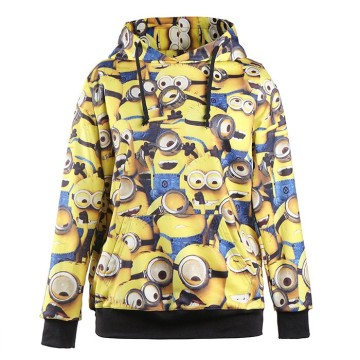 Custom sublimation sweatshirt animal 3d print hoodie
