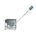 Spring feeder for corn kernels