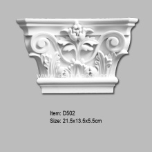 Best Quality for Door And Window Accessories,Door And Window Frames,Pilaster Bases,Pilaster Bottoms,Pilaster Capitals,Overdoor Pediments Manufacturer in China PU Window and Door Frame Capital supply to United States Exporter