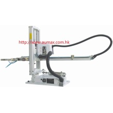 Telescopic Robotic Arm for Vertical Injection Machine