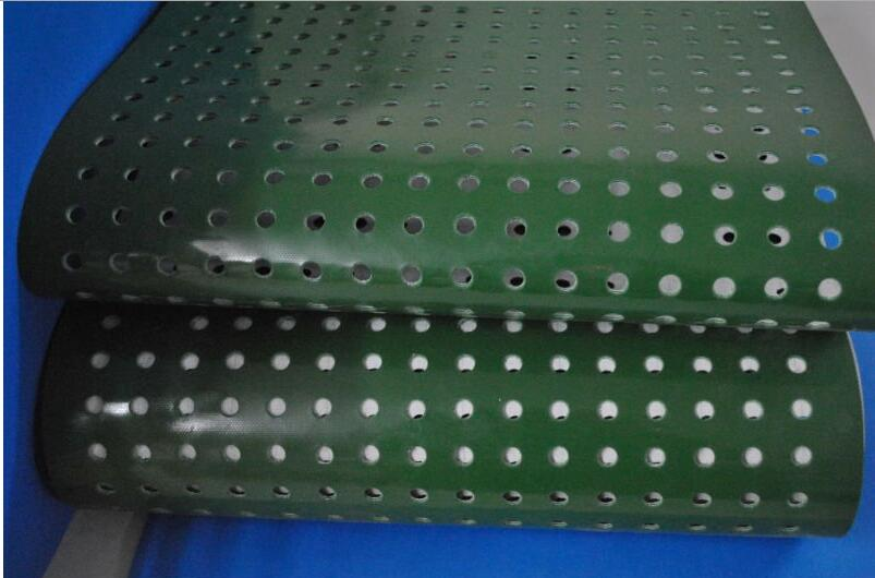 PVC Conveyour belt with Punching holes