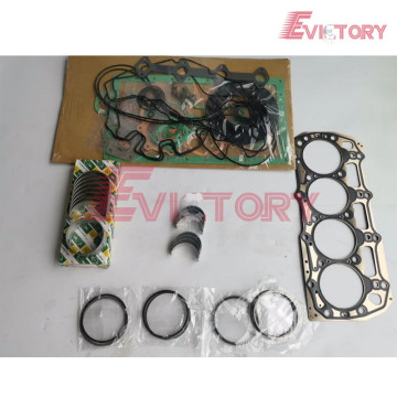 S4K rebuild kit piston ring liner gasket bearing