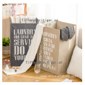 Foldable laundry washing Cuboid collapsible laundry basket