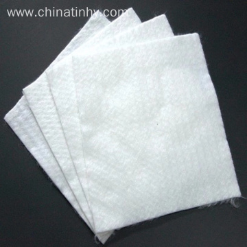 Long fiber geotextile with excellent property for filtering