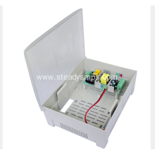 Plastic Box Power Supply 12VDC For CCTV cameras