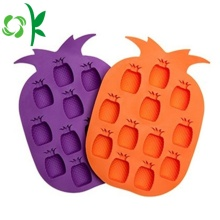 Silicone Fruit Shaped Flexible Ice Cube Tray Molds