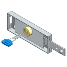 Shifted Deadbolt Roller Shutter Locks With Computer Key