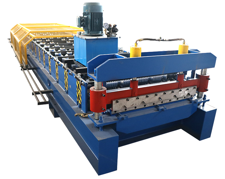 trapezoidal roof sheet machine
