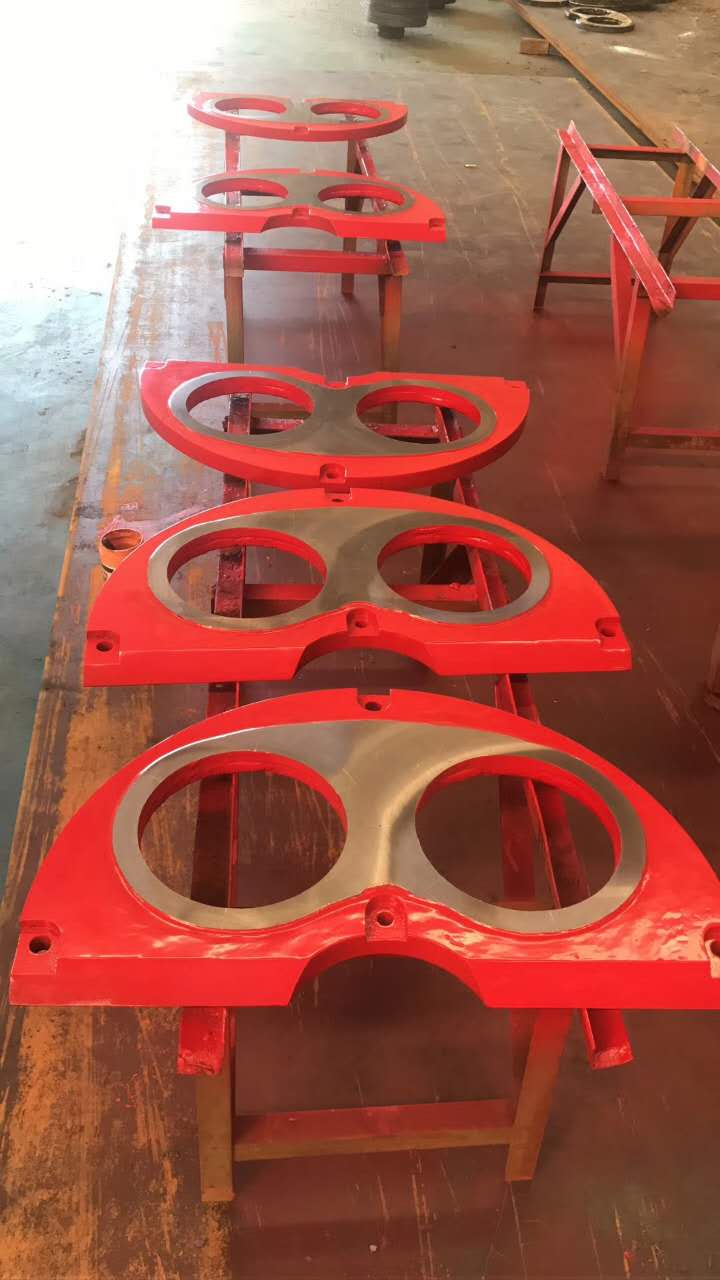 Sermac Concrete Pump Eyes Plate