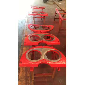 Sermac braide wear plate and cuuting ring