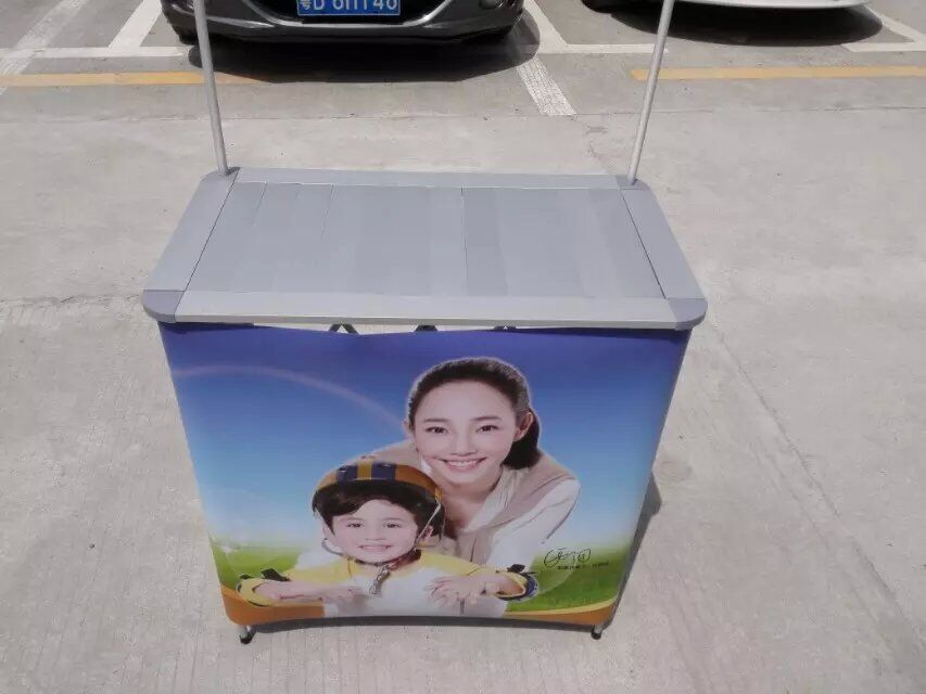 Aluminum Promotional Display Counter with Carry Bag