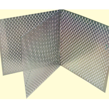 Round hole punching plate