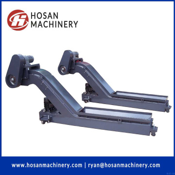 OEM/ODM chain plate conveyor hinged belt chip conveyor