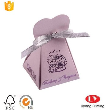Custom wedding gift candy packaging box