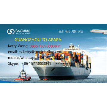 GUANGZHOU SEA FREIGHT TO APAPA