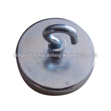 ceramic hook magnets D40*10 mm+ M4 female thread