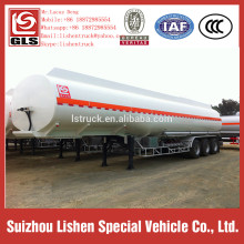 Oil Tanker Semi Trailer Stainless Steel Fuel Tanker