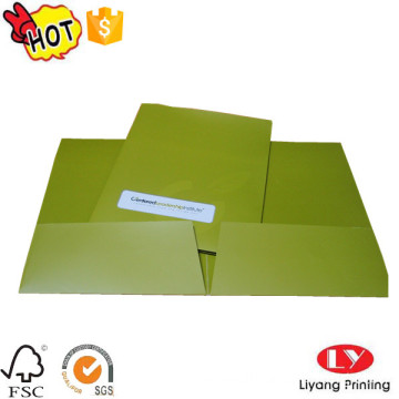 A4 file folder office holder with logo