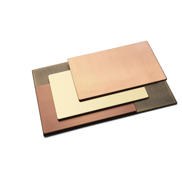 Fire resistance B1 copper composite panel