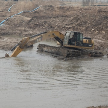 Wetland Amphibious Excavator For Sale