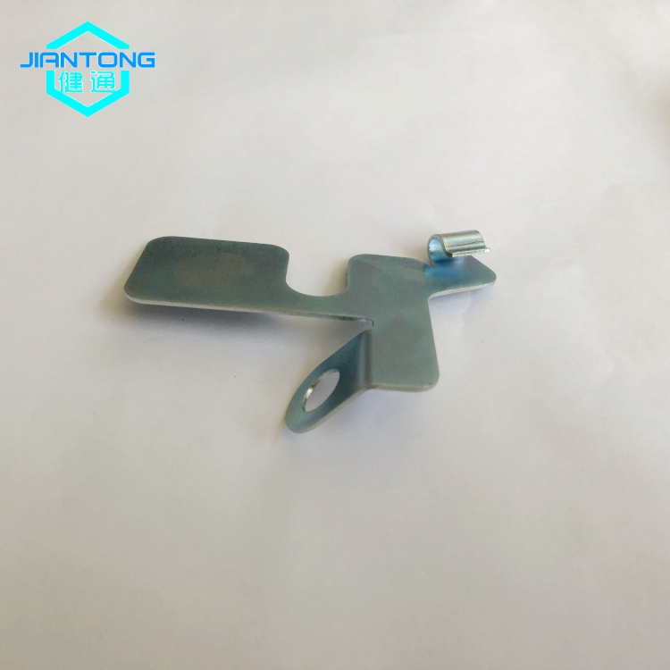 Custom Sheet Metal Stamping Zinc Plated Stamped Parts 3