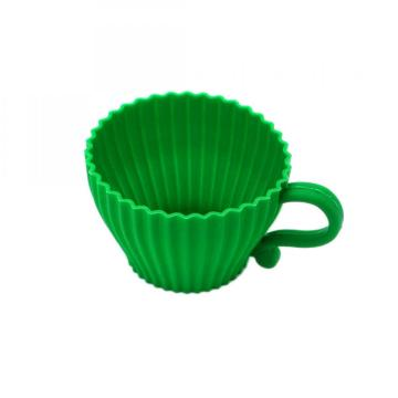 Silicone Baking Tea Coffee Cup Cake Mold