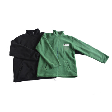 Fashion polyester Mens polar fleece jacket