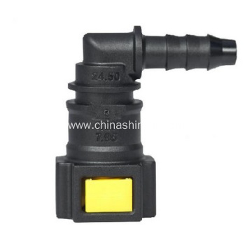 Factory supplied for Fluid Quick Connectors Methanol&Ethanol Quick Connector7.89mm(5/16SAE)90° supply to Rwanda Manufacturers