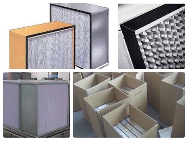 Deep Pleated Hepa Filters Details