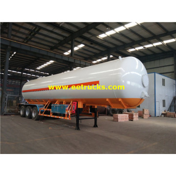 56000 Liters LPG Gas Delivery Trailer Tankers