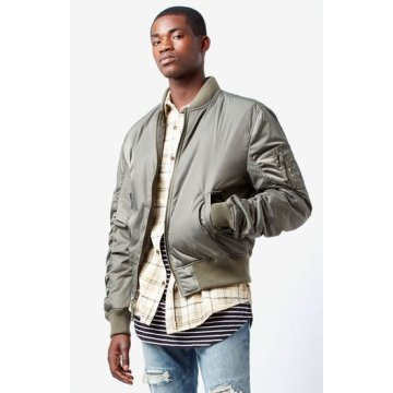 fashion mens Classic bomber jacket