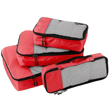 Travel Packing Cubes Laundry Wash Set