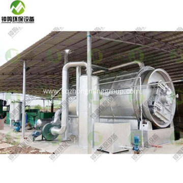 Conversion Machine of Plastic Waste to Fuel Oil