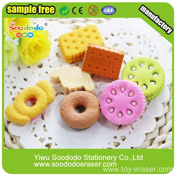 Doughnuts Eraser cheap stationery gift