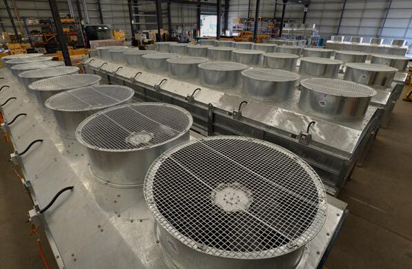 Satis Machinery Big Heat Exchange Coils