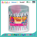Trolls gel pens with barrel packaging