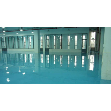 Waterproof and durable concrete epoxy floor