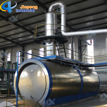 Engine Oil Recycling Plant Waste Oil Process System