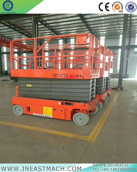 Factory Supply Reasonable Price Self Propelled Scissor Lift With Ce Iso