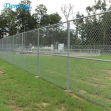 Vinyl Coated Woven Hurricane Chain Link Cyclone Fence