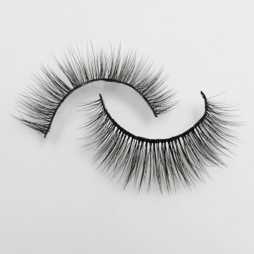 Fashion Styles 3d Mink False Eyelashes med anpassade