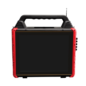 Plastic Portable Trolley Speaker