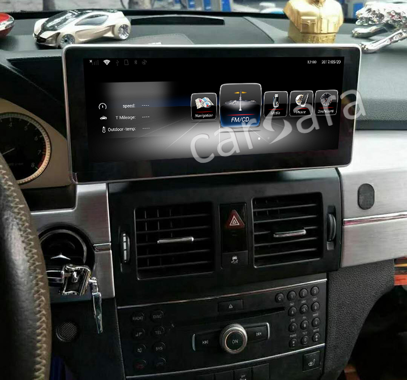 Android Benz GLK0812 After Installation