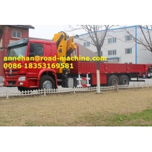 Good Quality for Crane Truck SINOTRUK  12 Tons Crane  truck supply to Gibraltar Factories
