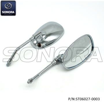 BAOTIAN ZNEN RETRO M10 Chrome Retro mirror M10×1.25×25 (P/N:ST06027-0003) Top Quality