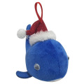 3D narwhal Christmas ornament